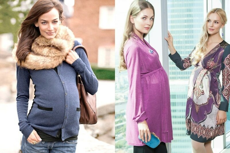 Что одеть чтобы скрыть беременность