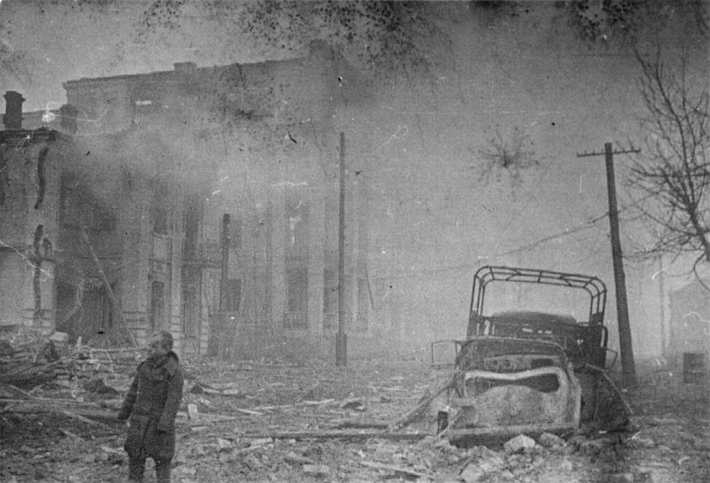 Улица в Виннице 20.03.1944
