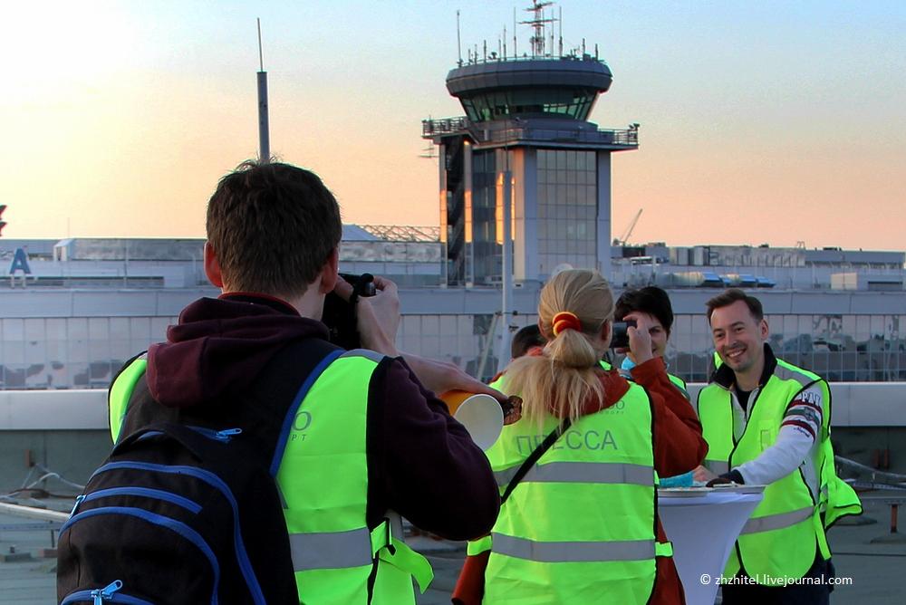 По крышам аэропорта Домодедово