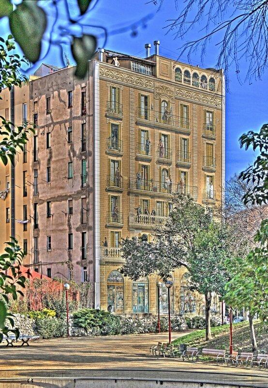 Дом 'Балконы Барселоны' (Casa Balcones de Barcelona)