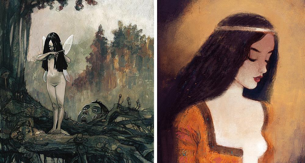 Вот такими художники-мужчины видят женщин