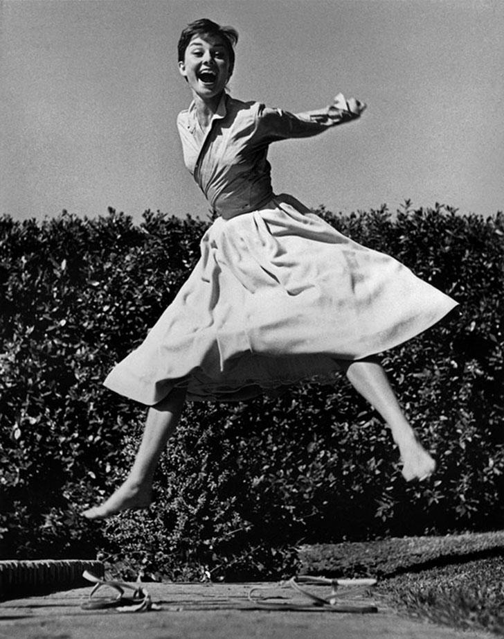 Актриса Одри Хепбёрн.
