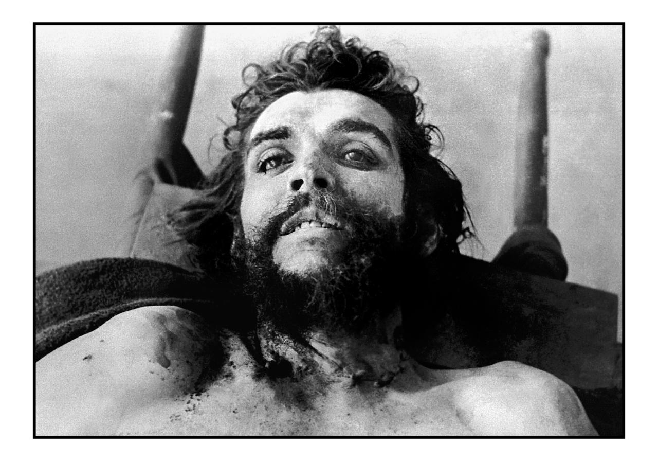 Многие жители Латинской Америки после смерти Че начали считать его святым и обращались к нему San Er