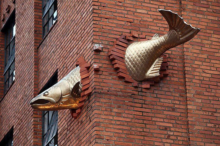 4. Лосось, Портланд, США Портланд — это крупный портовый город, а эта рыбка привлекает посетителей в