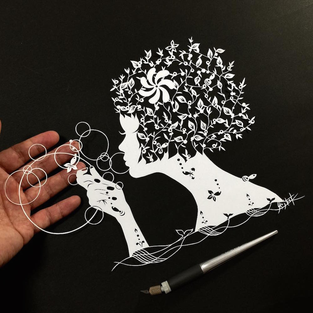 Бумажные кружева Риу