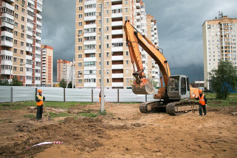 Начало строительства ДОУ в Нахабино