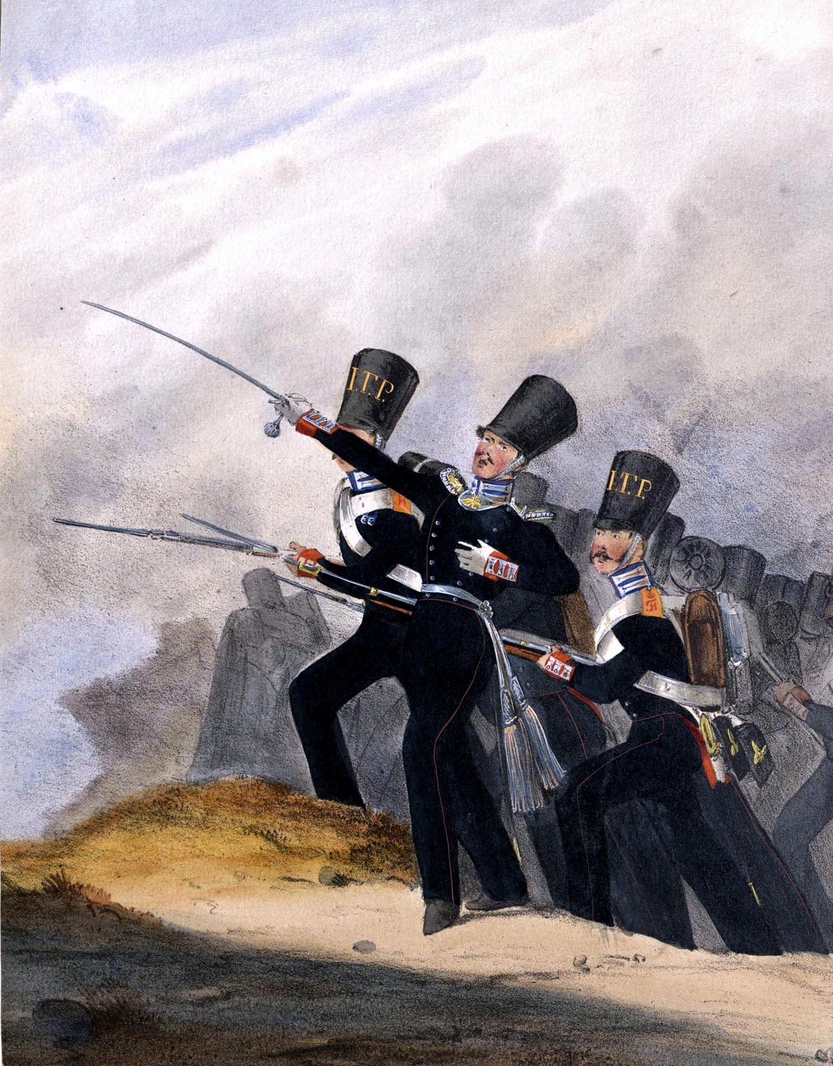 021. Kaiserthum Russland Garde-Grenadier-Regiment Kaiser von Österreich / Российская империя