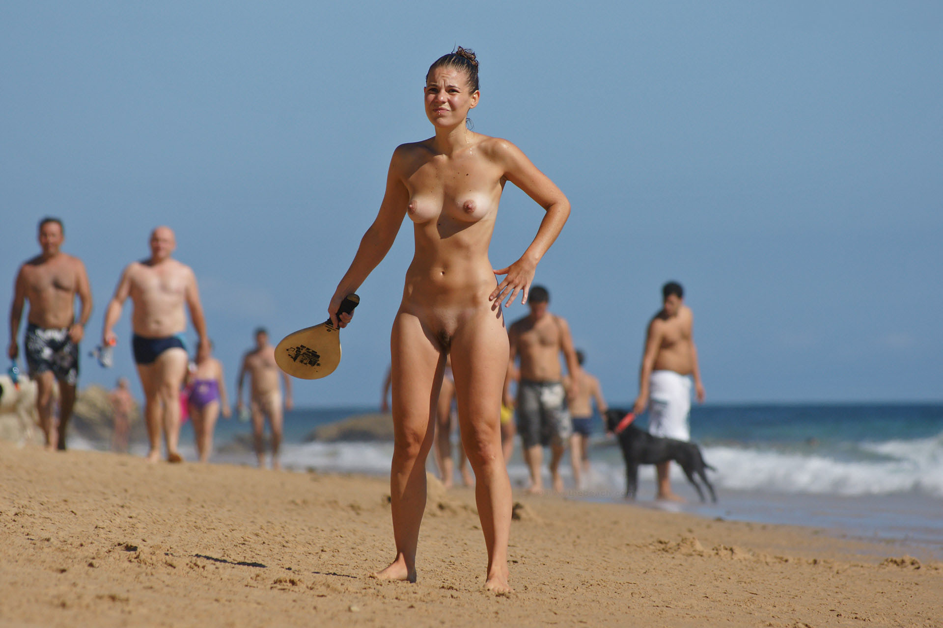 Video of nude beach of england