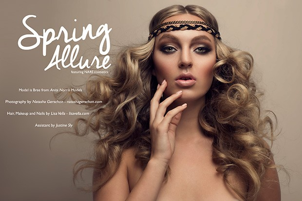 Photographer  Natasha Gerschon teams up with Makeup and Hair Artist Lisa Vella for a striking BEA