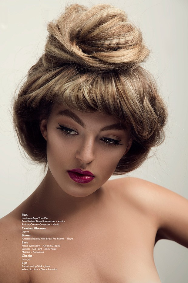 Bree by Natasha Gerschon for BEAUTY SCENE - Beauty Scene