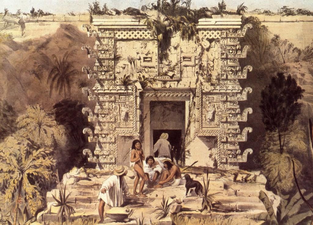 Uxmal, Pyramide des Zwerges -  -