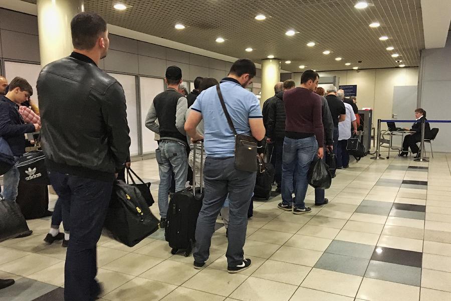 Что вас ждет в аэропорту по прилету из Чечни или Дагестана