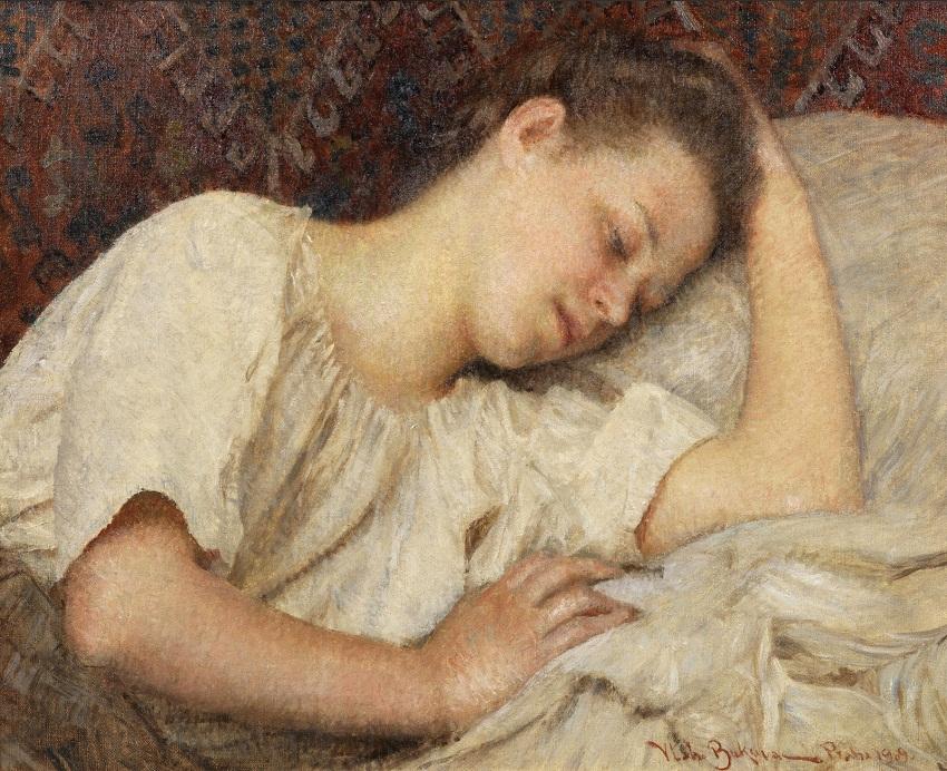 1909 На отдыхе (At rest)