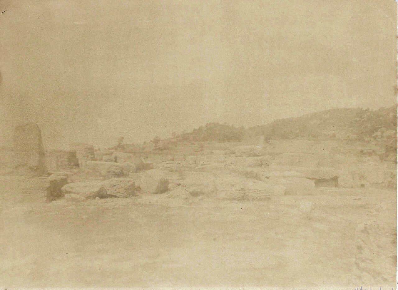 Руины палестры. 1892