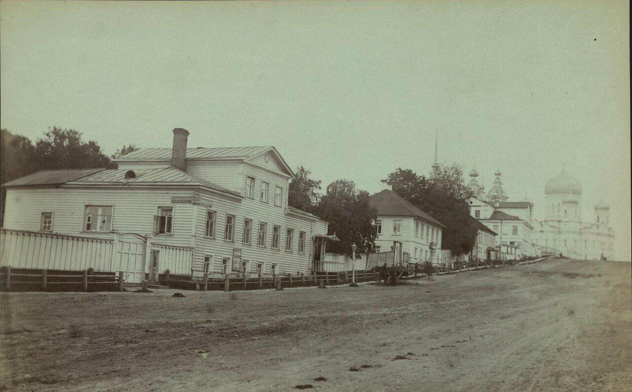 Петрозаводск. Соборная улица. Меблированные комнаты