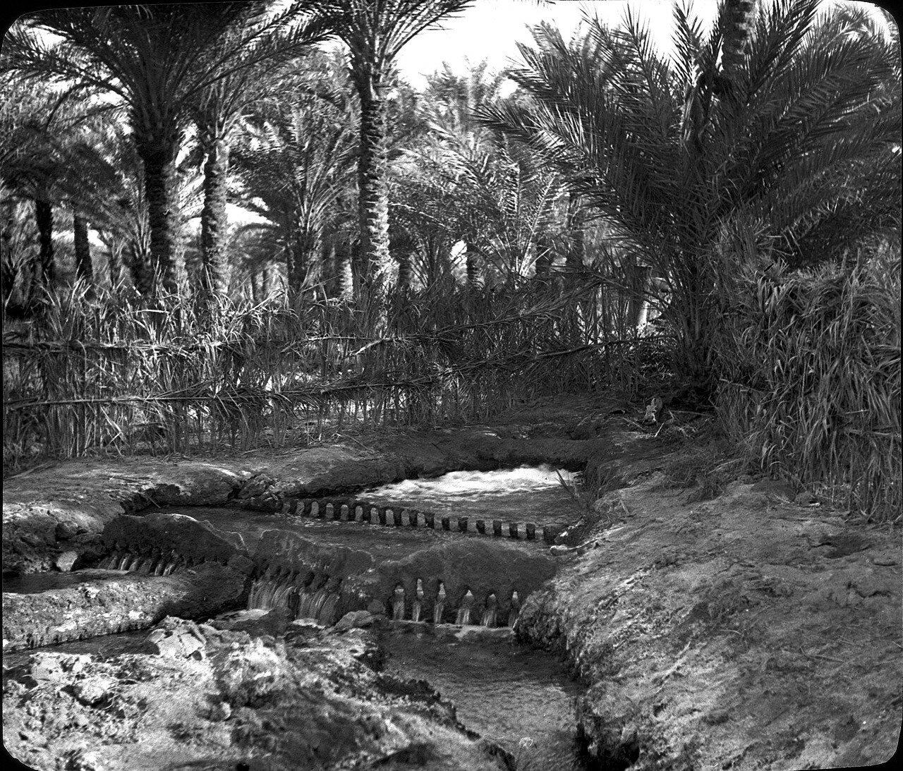 Алжир. Ин-Салах. Водораспределение