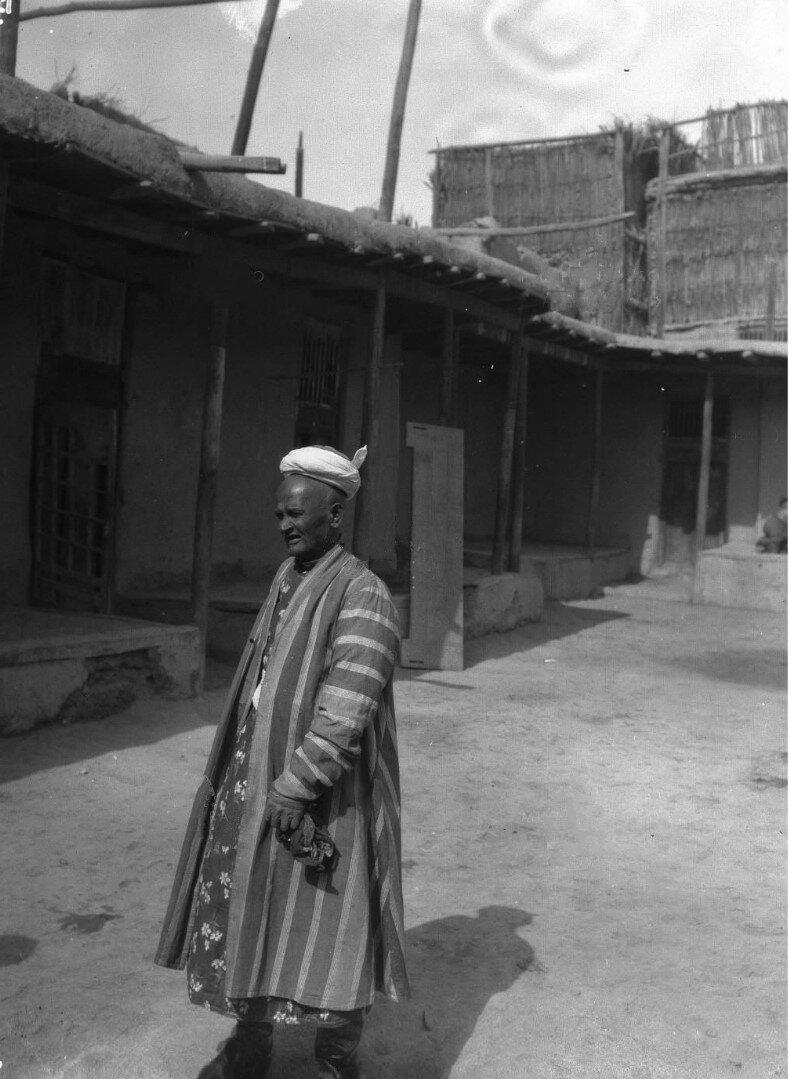 Местный житель, совершивший хадж в Мекку