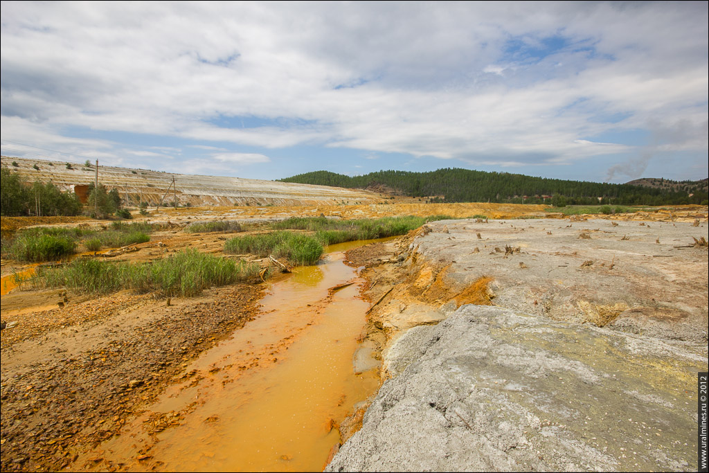 Соймановская долина. Река Сек-Елга. Карабаш