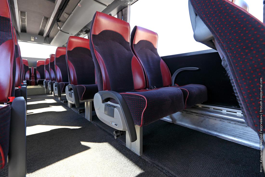 фото салон автобуса Bova