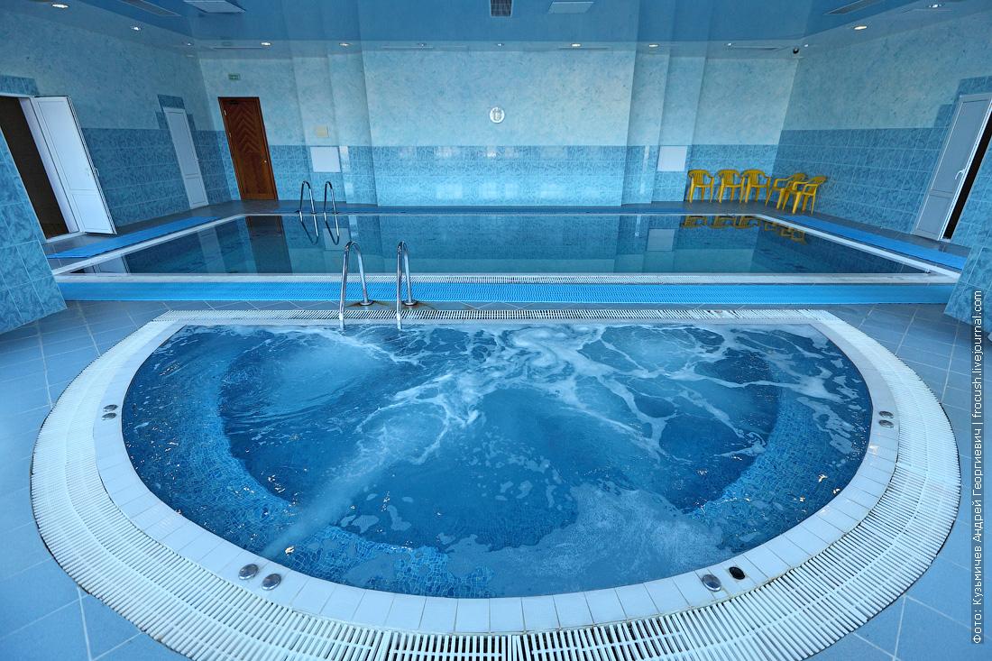 бассейн фотография отель волжская ривьера в угличе