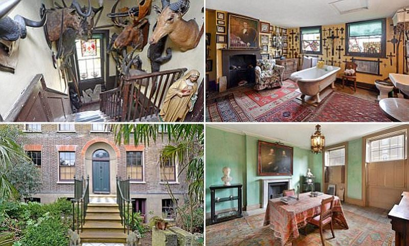 Пустовавший 126 лет особняк выставлен на продажу за 3 000 000 фунтов