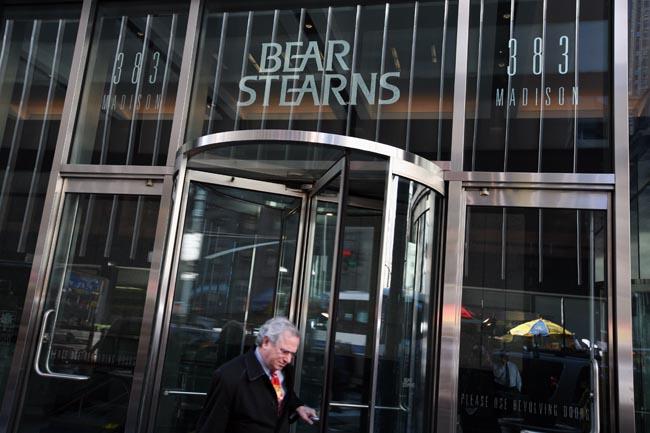 Причины развала банка Bear Stearns
