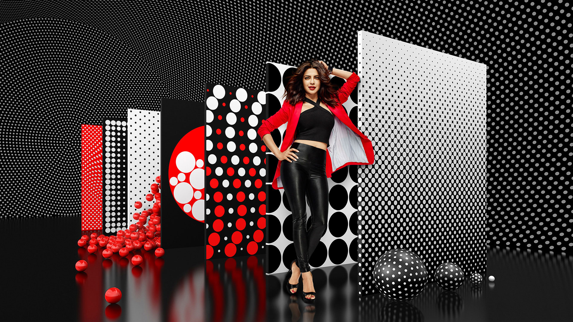 Priyanka Chopra в рекламной кампании Appy Fizz