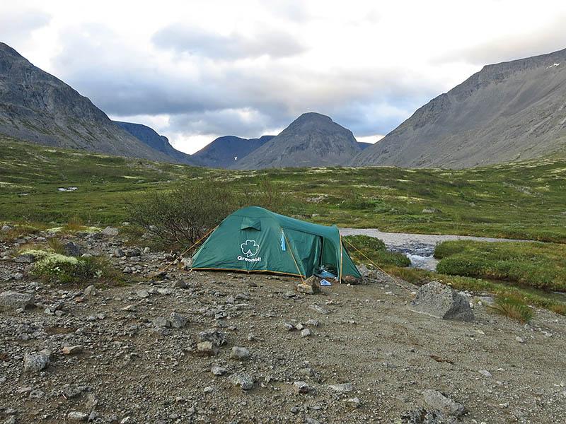 Лагерь на Малой Белой
