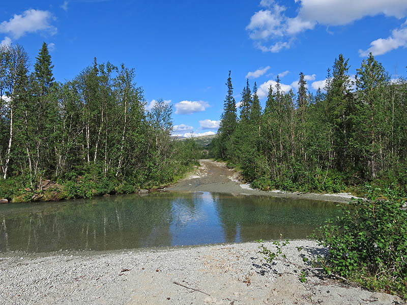 Дорога на озёра