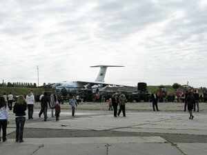 День воздушного флота на аэродроме в Кречевицах