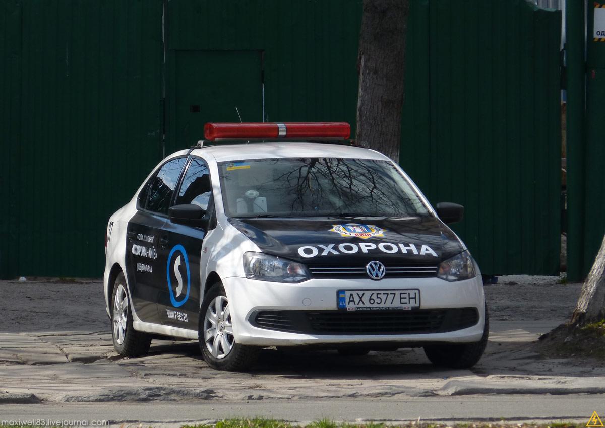 Volkswagen Polo Mk.5 Служба охорони
