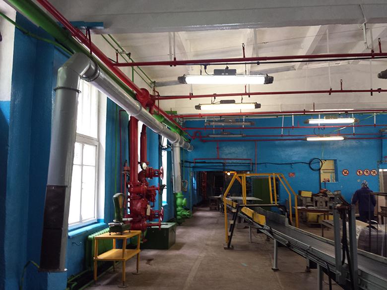 Цех Калиновского химического завода
