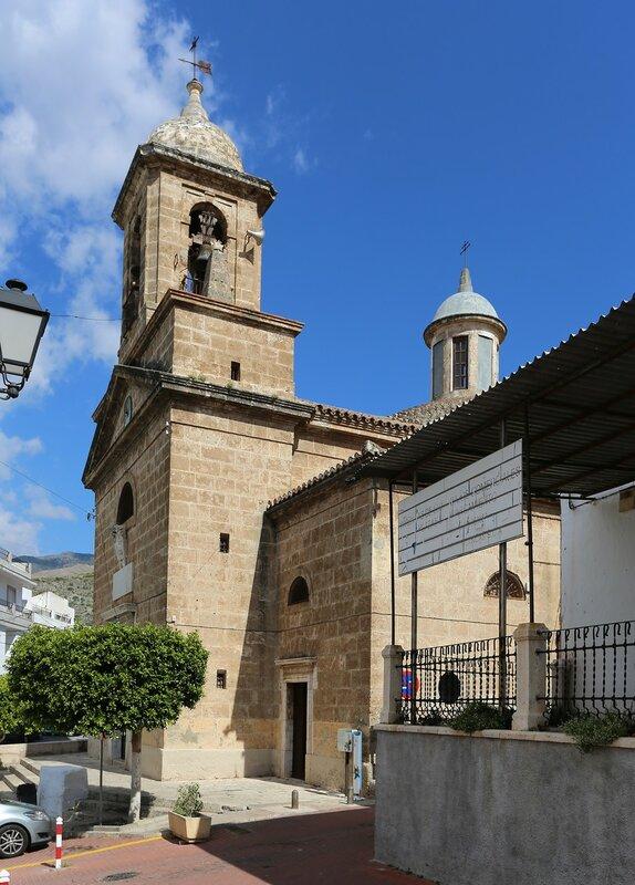 Велес-де-Бенаудалья. Церковь Девы Розарио (Iglesia Nuestra Señora del Rosario)