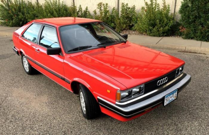 Audi Coupe GT 1982 года с низким пробегом