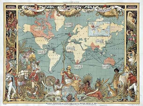Крупнейшие и грандиознейшие империи в истории человечества (26 фото)