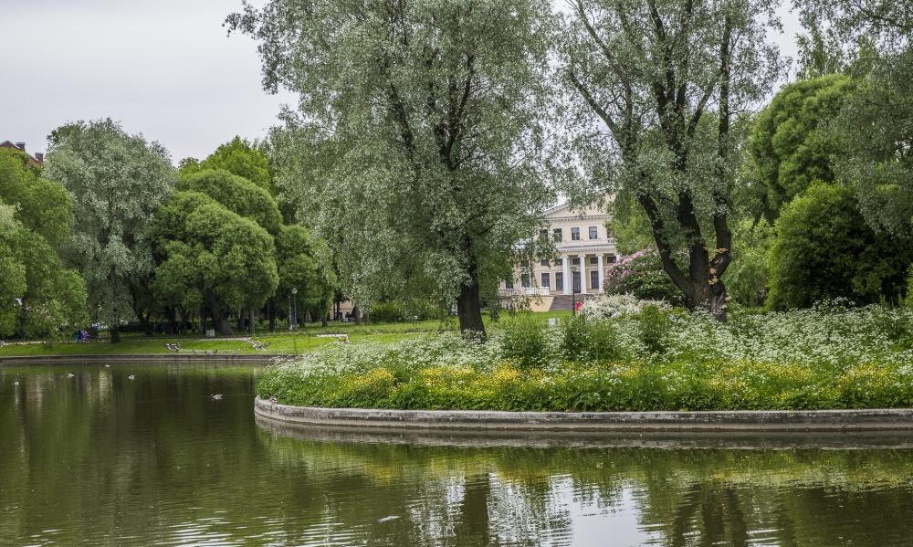 Юсуповский сад идворец наСадовой.