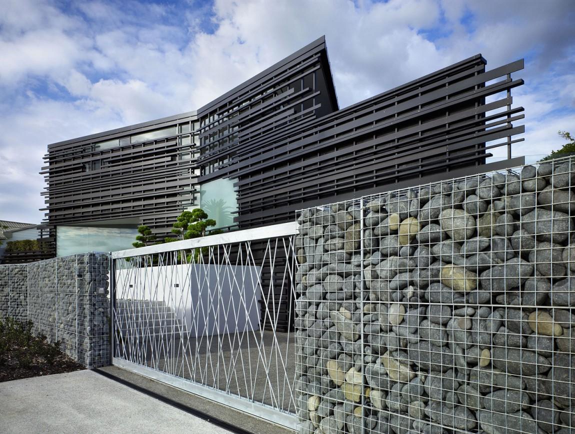 Архитектурная фирма Bossley Architects разработала проект дома Glendowie House в Окленде, Новая Зела