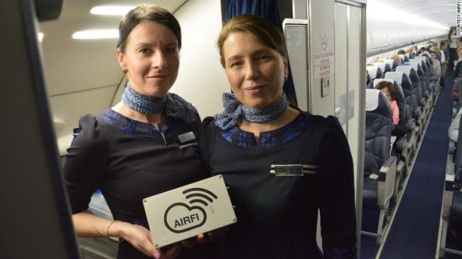 © courtesy airfi  Вовремя рейсов пассажиры обычно используют такие развлекательные порталы, к