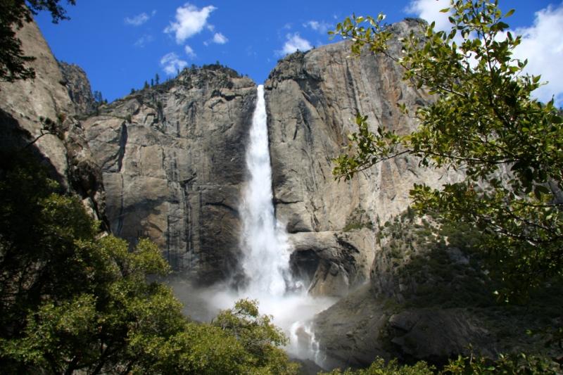 самые красивые водопады: Йосемити