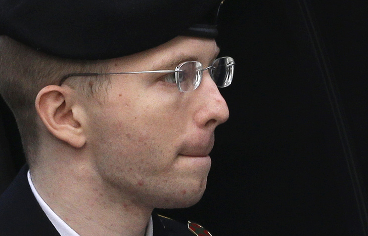 Информатор WikiLeaks Челси Мэннинг объявила голодовку втюрьме