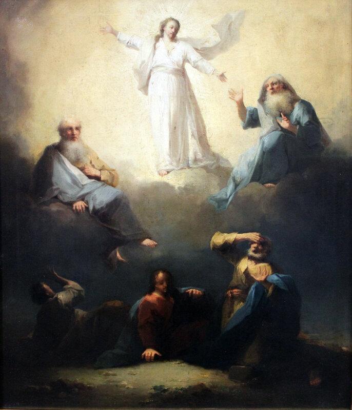 Trautmann Verklärung Christi anagoria, 1760