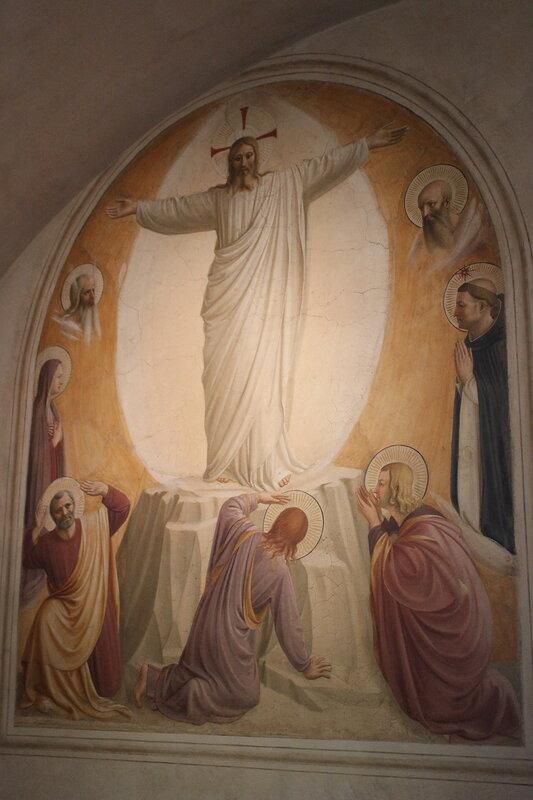 Fra Angelico. Transfiguración. San Marco, celda 6