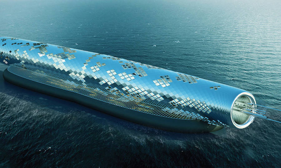 Solar-Powered Pipe Concept Desalinates Saltwater Into Clean Drinking Water (5 pics)