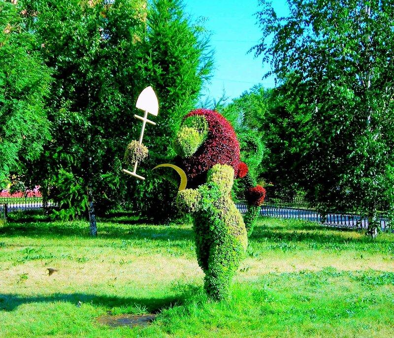 Красноярск. Зелёные сооружения