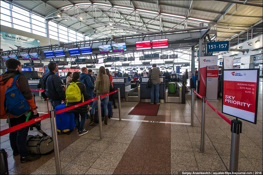 Czech Airlines, Москва-Прага