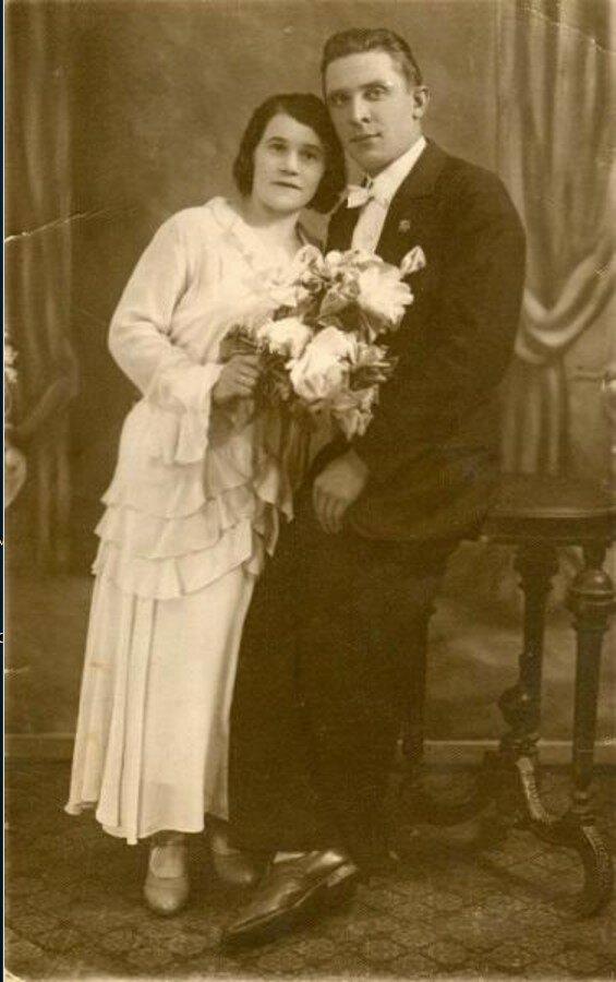 1928. Свадебный портрет