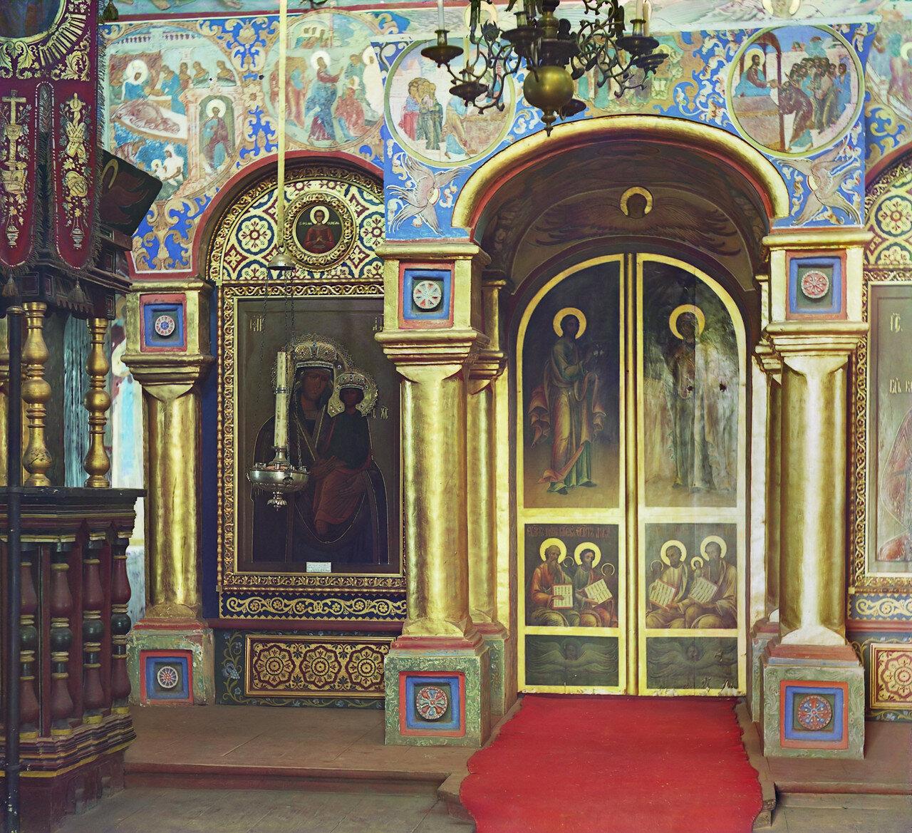 Церковь Иоанна Богослова. Иконостас