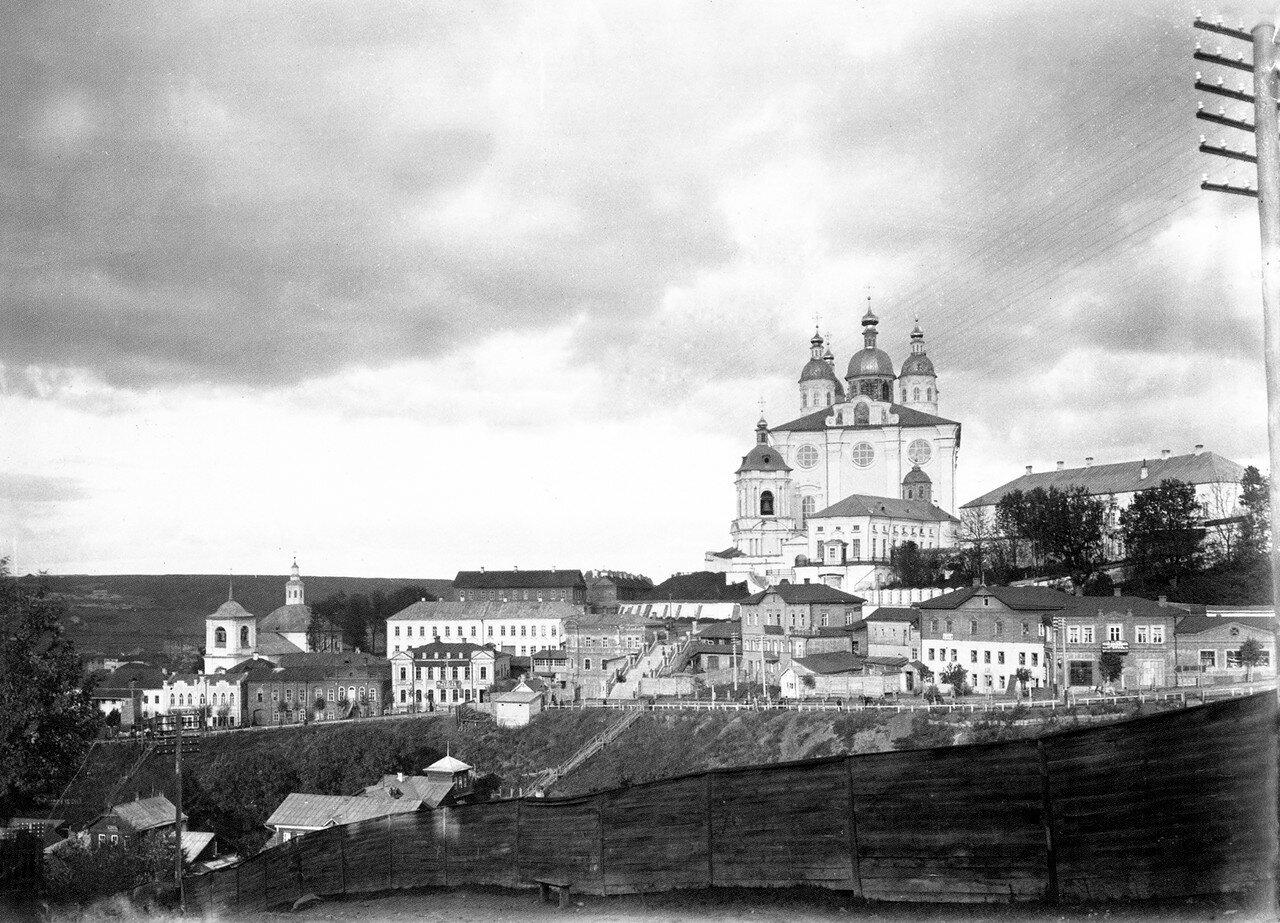 Троицкое шоссе и Соборная гора. 1900