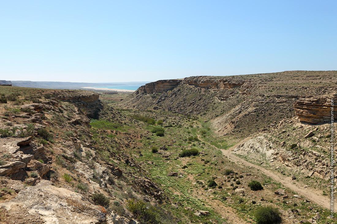 Казахстан каньон Саура