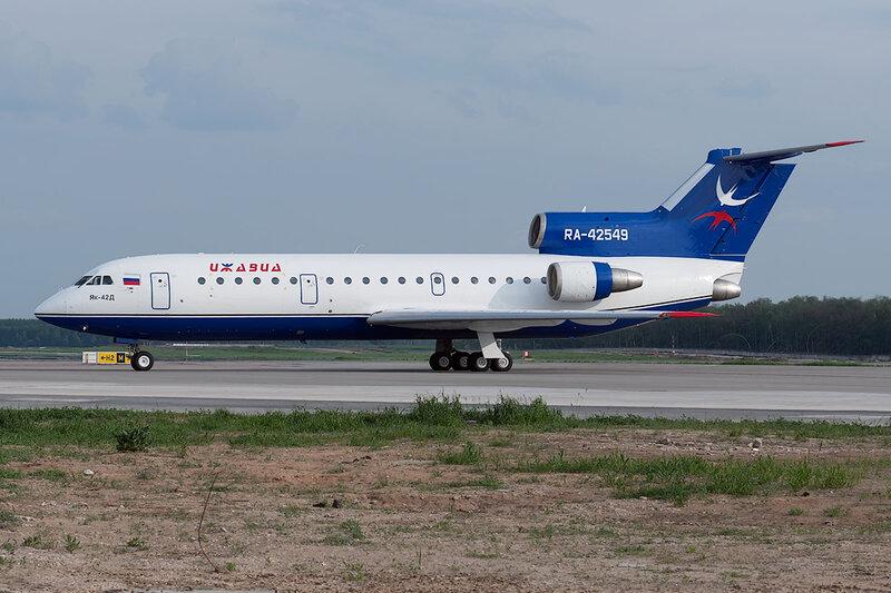 Яковлев Як-42Д (RA-42549) Ижавиа DSC0500